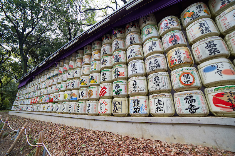Meiji Shrine Sake