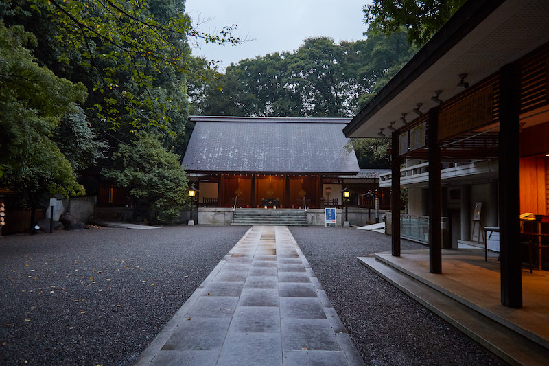 Nogi Shrine Entrance